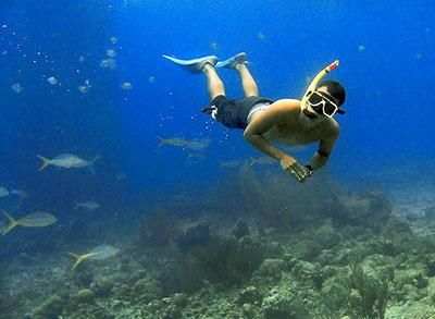 Snorkeling in Satonda